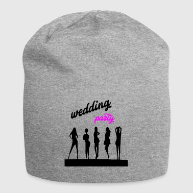 wedding party 7 - Jersey Beanie