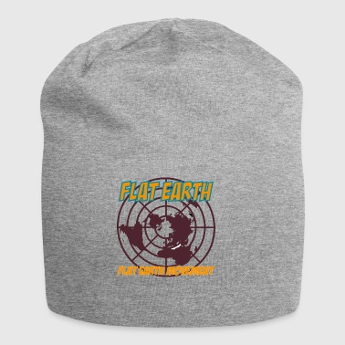 flat earth movement - Jersey-Beanie