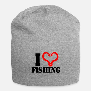 Fisherman Angler Fisherman Fisherman Angel Gift idea - Jersey Beanie