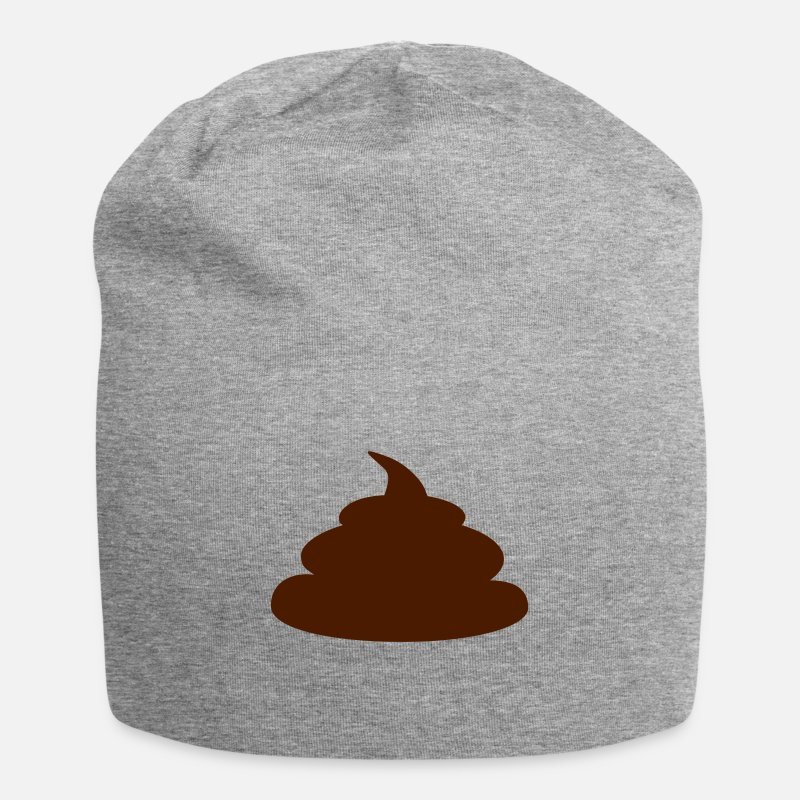 Fuck You Caps & Hats - Shit  (cheap!) - Beanie heather grey