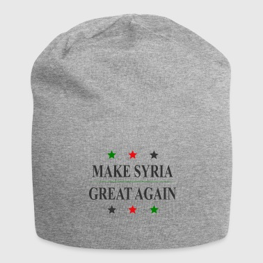 Syria Make Syria Great Again Gift home to Syria - Jersey Beanie