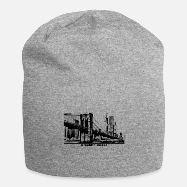 Brooklyn Bridge Brooklyn Bridge Bridge New York Gift - Jersey-Beanie