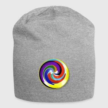Multicolored and shiny marble - Jersey Beanie