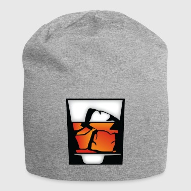 Tumbler Of Whiskey En Ice Cubes - Jersey-Beanie