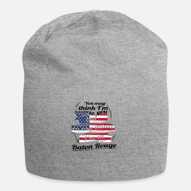 Baton Rouge THERAPIE URLAUB AMERICA USA TRAVEL Baton Rouge - Jersey-Beanie