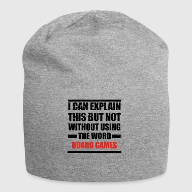Can explain relationship born love BOARD GAMES - Jersey Beanie