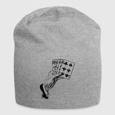 Playing Cards Cards Poker Gift - Jersey Beanie