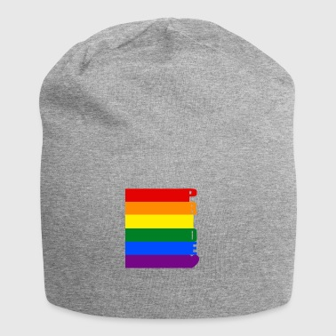 Gay Pride - Beanie in jersey