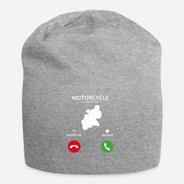 Mobile Phone Call Mobile Phone - Jersey Beanie