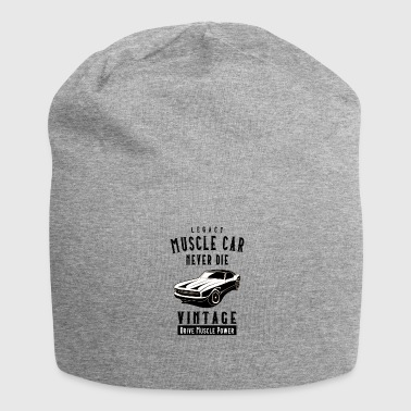 Die Legacy Muscle Car Never Die - Beanie in jersey