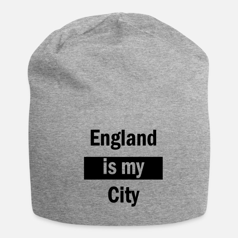 England Caps & Hats - england is my city - Beanie heather grey
