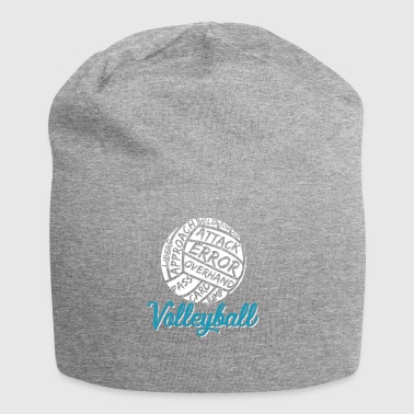 Joueur de Volley-ball Volley-ball cadeau - Bonnet en jersey