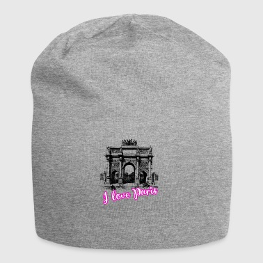 paris l'arc triomph love france tourist trip roman - Jersey Beanie
