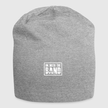 I'm With The Band gift for Band Geeks - Jersey Beanie