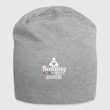 READING - READING - READING - BOOKSHOP - BOOKS - Jersey Beanie