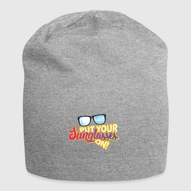 Holiday sun sunglasses - Jersey Beanie