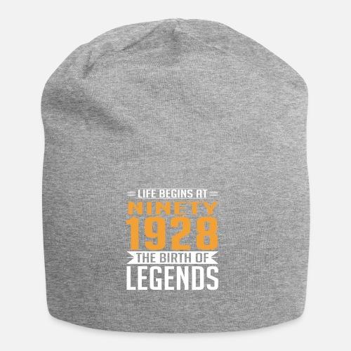 1928 90 90th Birthday Years Legends Gift Beanie