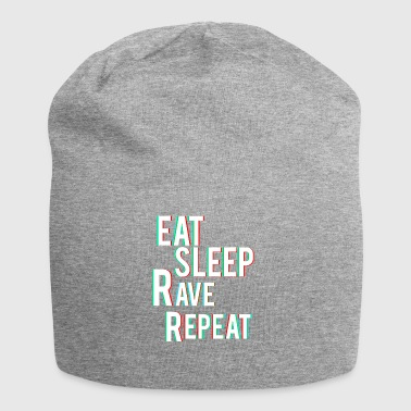 Eat Sleep Rave Repeat - Jersey Beanie