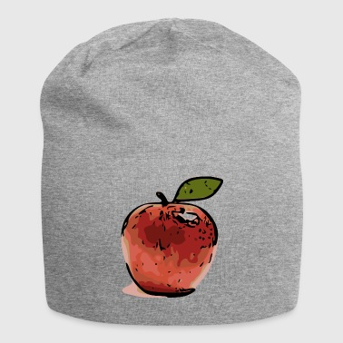 Apple popart - Beanie in jersey