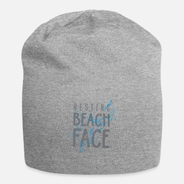 Beachvolleyball Beach Face a riposo - Beanie in jersey