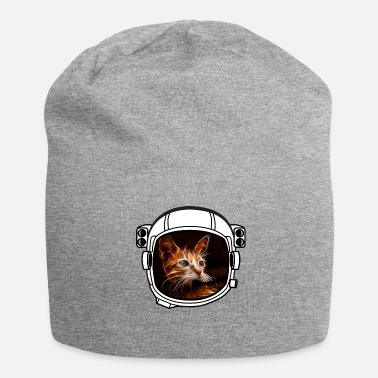 Armstrong helm kat Astronaut alle bovengrondse koele grappige - Jersey-Beanie