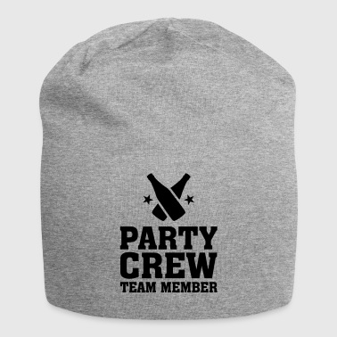 Party Crew Team Member partys birthday jubilee - Jersey Beanie