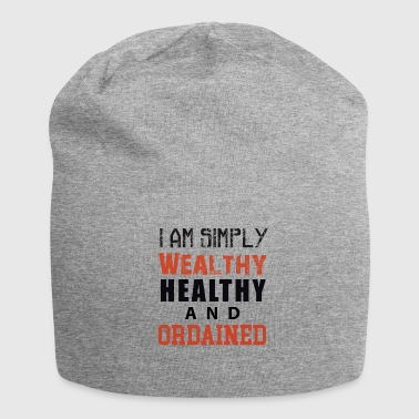 I am simply Wealthy Healthy And Ordained (WHAO) - Jersey Beanie