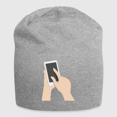 mobile - Beanie in jersey