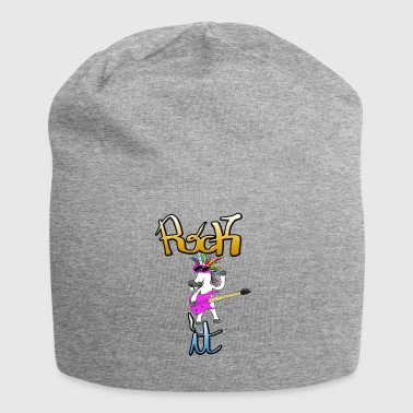 Rock it Unicorn Rocker Unicorn Rock - Jersey Beanie