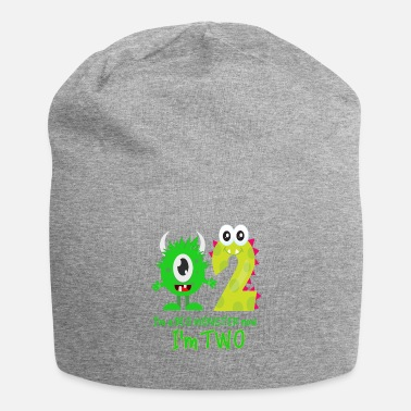 Birthday Boy Monster FUNNY 2ND BIRTHDAY MONSTER DESIGN - Beanie