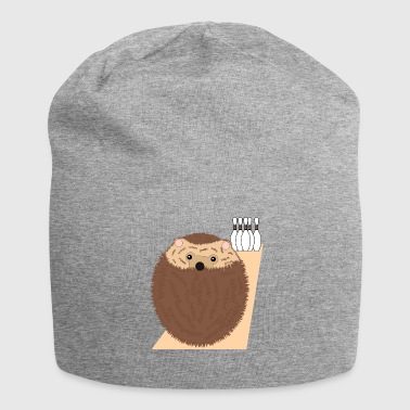 Hedgehog - Funny - Bowling - Jersey-Beanie