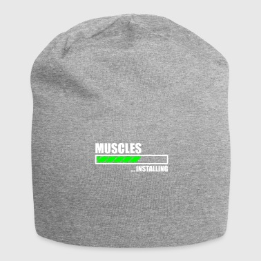 Installazione Muscles Funny Gym - Beanie in jersey