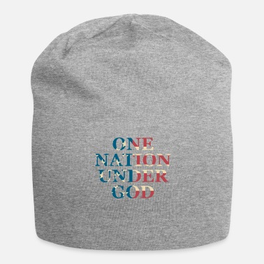 Under The Influence One Nation Under God - Jersey Beanie