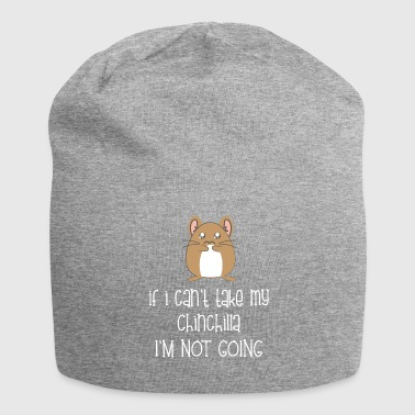 Chinchilla - Chinchillas - Chinchilla - Fun - Jersey Beanie