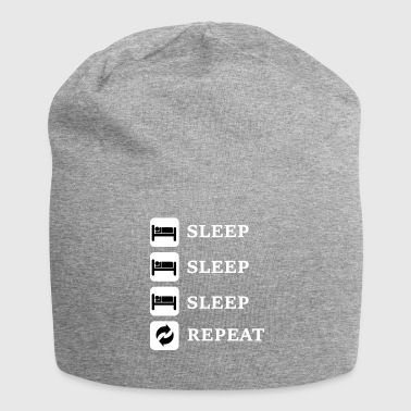 Sleep, Sleep, Sleep, Repeat - Jersey Beanie