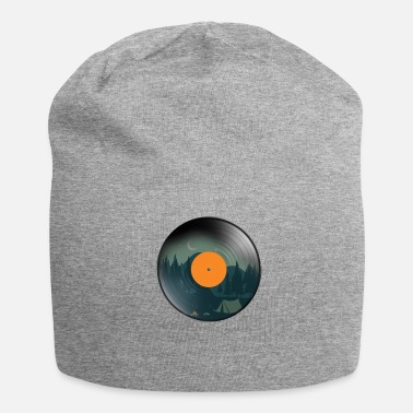 Old School Vinile vintage - Beanie in jersey