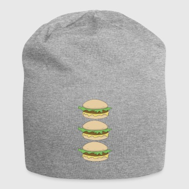 Hamburger hamburger hamburger - Jersey-Beanie