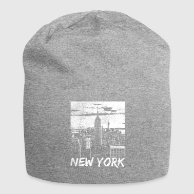 I Love New York Washed Retro 80s I Love New York Design - Gorro holgado de tela de jersey