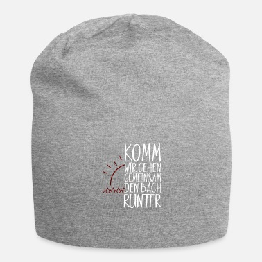 Down COME WE GO TO THE BACH DOWN TOGETHER - Jersey Beanie