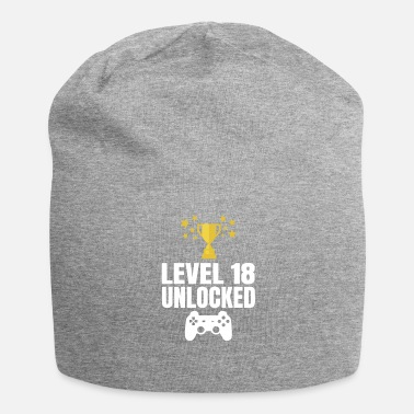 18th Birthday 18th birthday gambler gamer tshirt - Jersey Beanie