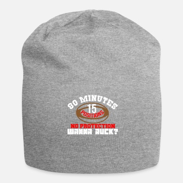 Ruck rugby wanna ruck rucking grubber ball Gift Idea - Jersey Beanie