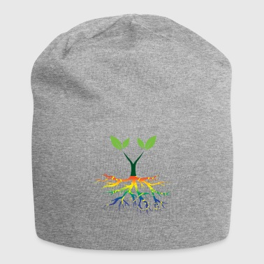 Nature Conservation Nature - Rainbow - Conservation - Roots - Jersey Beanie
