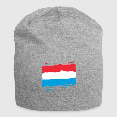Lëtzebuerg Fändel - Luxembourg Flag - Luxembourg - Jersey Beanie