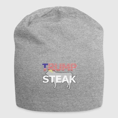 Anti-Trump Rump Steak Amerika Gift - Jersey-Beanie