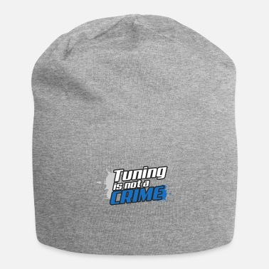 Tuning Tuning is geen misdaad - Jersey-Beanie