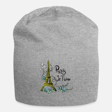 Je Taime Tee shirt Paris Tour Eiffel Je taime Paris France - Bonnet en jersey