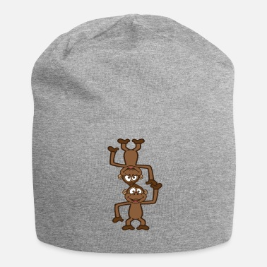 Animo Monkeys acrobatics in the circus - Jersey Beanie