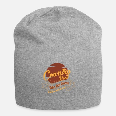 Country Regalo country country music country country music - Beanie in jersey