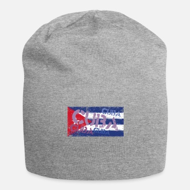 Cuban Cuban flag, Cuban tradition gift - Jersey Beanie