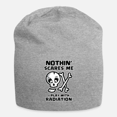 Straling Halloween Radiology Tech Radiation Skull - Beanie